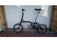 Folding Brompton Bike