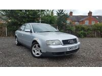 2002 Audi A6 2.0 SE CVT Automatic Saloon 1 OWNER FULL HISTORY NO MOT Cheap Spares Or Repairs Parts