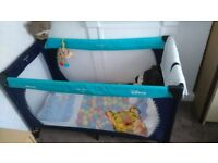play travel cot
