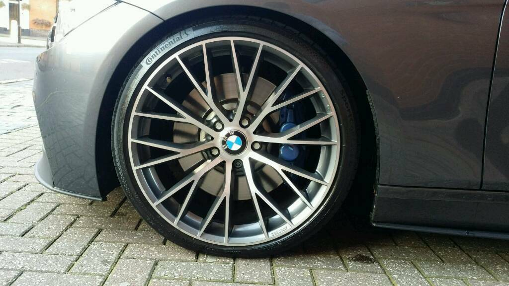 20 Quot Mak Munchen Wheels With Continental 6 Tyres For Bmw F30 In Handsworth West Midlands Gumtree