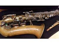 Profesional Vintage Buescher Alto sax