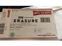 Erasure Ticket