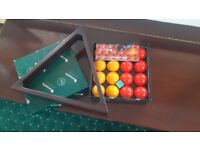 Riley Pool table turns into dining table