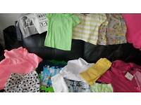 Job lot of children's clothes mixed lot - girls & boys 42 items in total