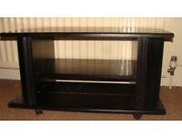 Black Wooden TV Stand, Good Condition. £15 ONO.