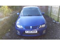 Mg zr + 105bhp trophy model with facelift 2005 with only 50,000 miles mot 11 months