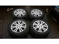 GENUINE LAND ROVER RANGE ROVER 19 INCH ALLOY WHEELS 5X120 VOGUE SPORT L405 DISCOVERY 2 3 4 VW T5 T6