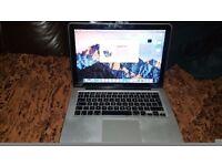 Apple Macbook Pro 13 inch i5 16GB RAM and 250GB SSD 2012 Model