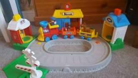 Little people train set