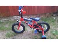 Spider man bike