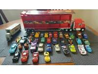 Huge Disney cars collection and large mac