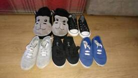 Free - Selection of boys shoes/slippers sizes 10 and 11