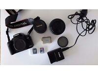 Canon 450D digital SLR + Lenses