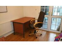 Office/computer desk with chair