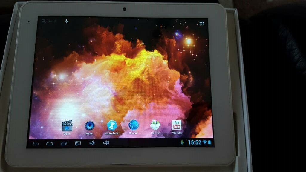BOXED CNM 16GB ANDROID TABLET WHITE
