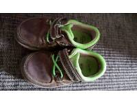 Baby shoes Clarks boys 51/2 f