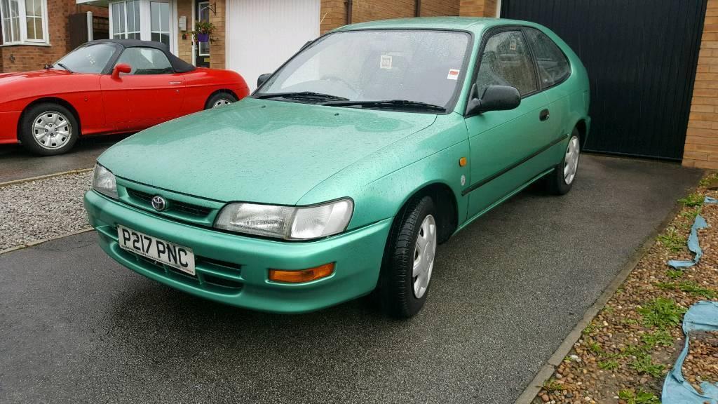 1997 Toyota Corolla 1.3 Sportif 3dr 43k miles