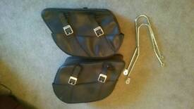 Triumph bonneville T100 saddlebags