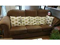 Peter Guild 3 seater sofa an armchair in excellent condition