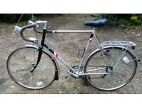 Road Bike Raleigh Tempest 1980's