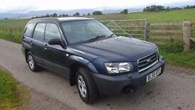 2005 Subaru forester x automatic. £800.
