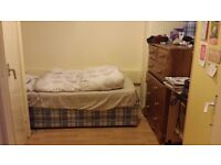 Spacious single room is available
