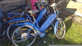 2 x electric bikes spares and repairs