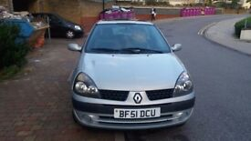 Renault Clio in good condition. Good cheap first car