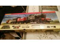 Hornby freight master train set new boxed