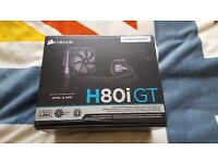 Corsair H80i GT AIO Water Cooling - Nearly New, Fans never used