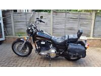 Harley Davidson FXRS Low Rider Convertible 1340cc Black