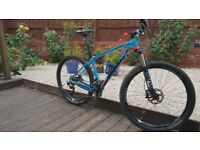 Giant XTC Advanced 2 - Carbon - 27.5 mountain bike - medium - Shimano XT/XTR