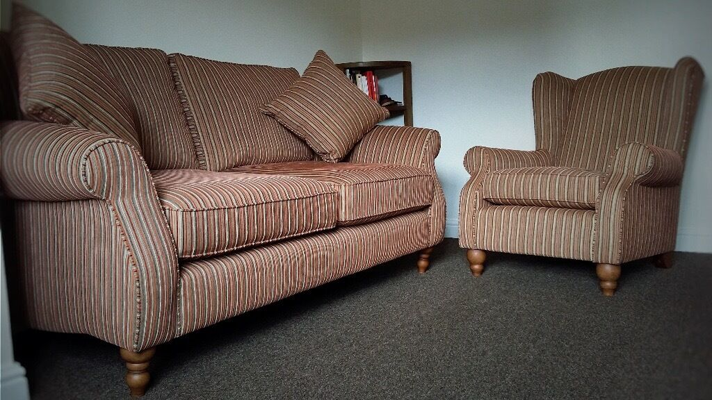 SOFA (3 SEATS) AND CHAIR