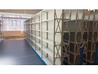 5 Tier Steel Heavy Duty Metal Industrial Warehouse Racking Shelving Unit Storage