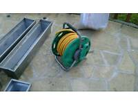 25m Hozelock hose and reel.