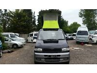 MAZDA BONGO AFT 4 BERTH FULL HIGH QUALITY SIDE CAMPER CONVERSION 2.5 TD 4WD
