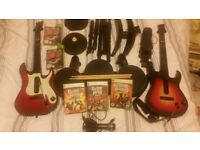 Full setup of guitar hero for xbox 360