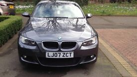 BMW 3 series Sport (m3 spec) Convertible 2.0 manual 2007 low mileage 40k