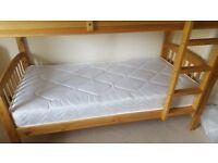 2x Unused standard single mattresses