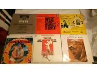 6 classic film vinyl lps