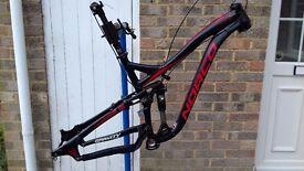 """Men's Full suspension Mountain Bike Frameset 2013 NORCO SIGHT B2 (for 650B/27.5"""" wheels) Size M"""