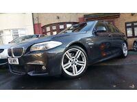 BMW 5 Series 3.0 530d M Sport 2011 Diesel 8-Speed Auto Gears 19 INCH ALLOYS WIDE SCREEN FSH £13,599