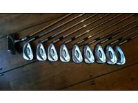 Golf set irons and putter
