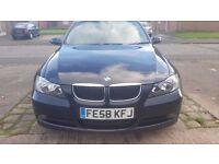 2008 (58)BMW 318D Diesel 124000 miles FSH, NOT Audi A4, A3,A6, Golf, Passat, Mondeo, E Class,C Class