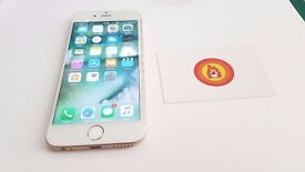 iPhone 6 16gb * 99% Pristine * White/Gold * Network Unlocked * 100% Tested * 3 Month Warranty