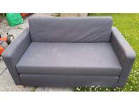 Blue/Grey Ikea Sofa Bed - free to uplift