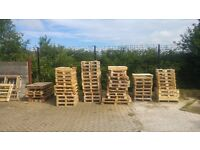 FREE TO COLLECTOR - OVER 100 PALLETS VARIOUS SIZES (TAKE WHAT YOU NEED)