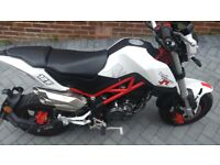 Benelli TNT Tornado 125 immaculate only 380 miles