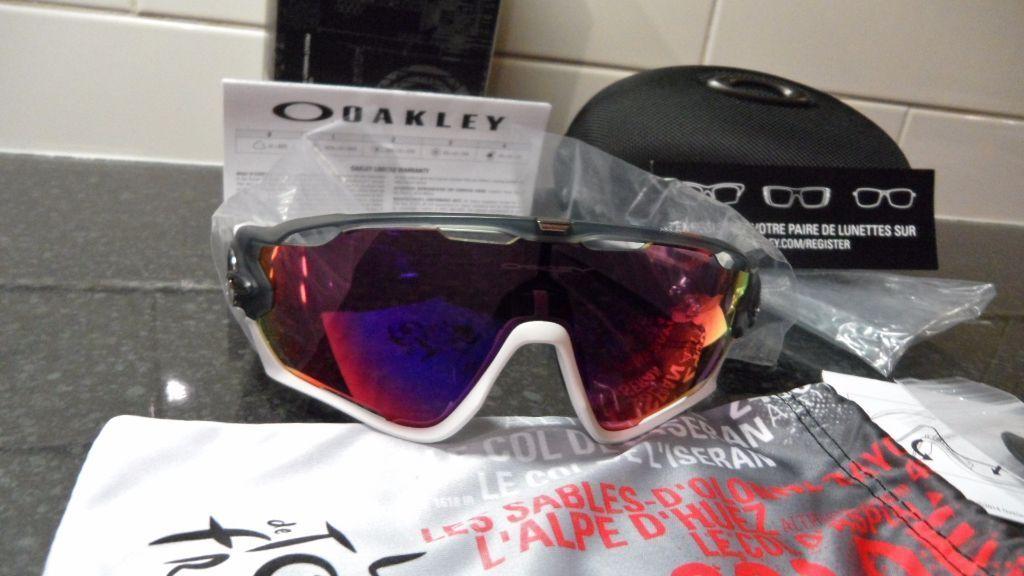 Oakley Jawbreaker Sunglasses Tour De France Edition with Prizm lens 100%  GENUINE and BRAND NEW 0844ed911f4c