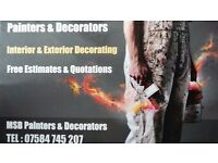 MSB Painters & Decorators Leeds Based Professional, Reliable Service Call 07584745207